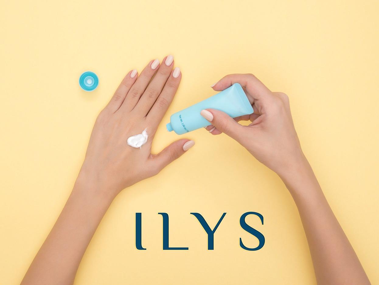 Paris Based Cosmetic Company Branding - ILYS