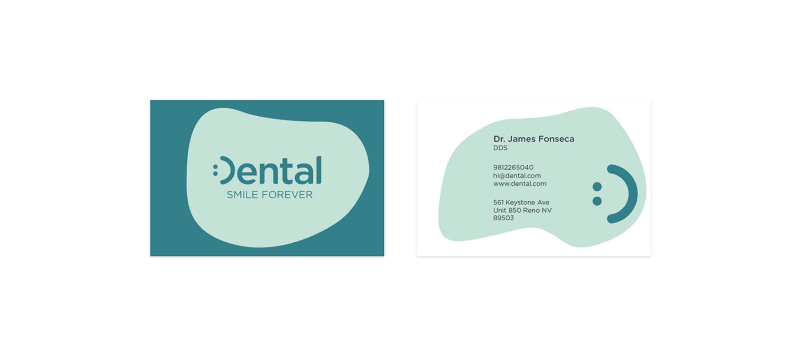 Dental.com Brand Identity & UI/UX Design