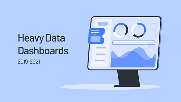 Heavy Data Dashboards 2019-2021