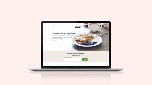 Restaurant Booking App UI/UX Design and Branding