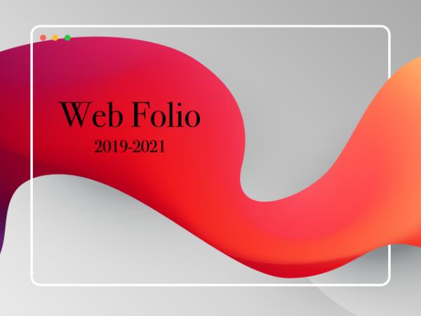 WebFolio 2019-2021